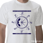 Adriatic Rosewind T Shirt White