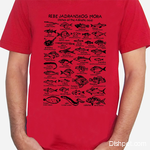 Fishes of the Adriatic Red T Shirt