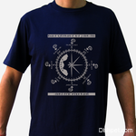 Adriatic Rosewind T Shirt Dark Blue
