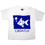 Childs Croatia Fish T Shirt