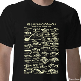 Fishes of the Adriatic T Shirt