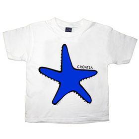 Childs Croatia Starfish T Shirt
